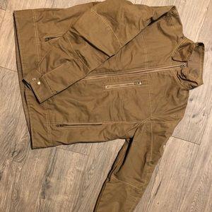 Kuhl brand jacket. Heavy duty w/ a fleece lining